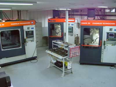 Wire Machining Room